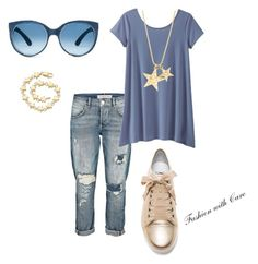 """""""casually blue"""" by fashionwithcare on Polyvore featuring TravelSmith, Lanvin, Tiffany & Co. and fashionwithCare"""