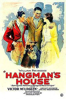 1928 silent film set in Co Wicklow, Ireland, directed by John Ford (uncredited in 8th film) is also notable for containing first confirmed appearance by John Wayne.