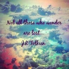 mylalicious Instagram (Myla Radicchia) #clouds #wanderlust #quote #jrtolkien