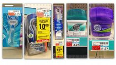 Moneymaker Gillette Razors and Oral-B Rechargeable Toothbrushes at CVS!