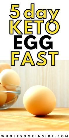 Are you having trouble transitioning into ketosis?😖Keto EGG FAST is all you need! 😱CLICK THE LINK to learn why keto egg fasting can help you with weight loss and health 🤗