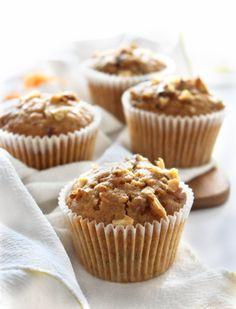 Cupcakes de Cenoura Veganos. Tão fofinhos e saborosos quanto os Cupcakes normais!
