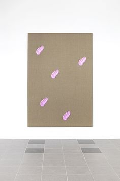 Peter Mohall, Untitled (brushstrokes painting), 2015, alkyd and acrylics on linen woden stretchers, 180 x 125 cm