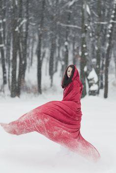 The little red riding hood by Sarah Bel Photography Make up: Sarah Bel Outfit: Dana Morariu Model: Cristina Movileanu www.sarahbel.com