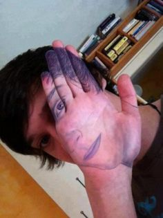 Incredible Hand Paint Illusion!