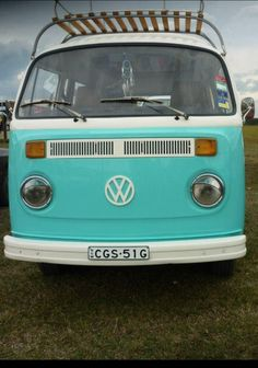 Aqua kombi van! this is what makes me unsatisfied with my life. want it so bad!