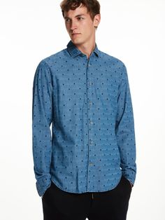 Structured Long Sleeve Shirt