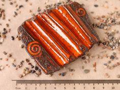Seifenablage Trockenwelle klein orange