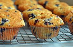 TESTED & PERFECTED RECIPE - Bursting with fresh blueberries with a tender…
