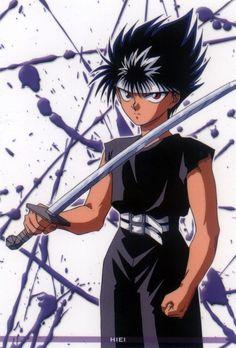 Hiei (Yu Yu Hakusho) Fun fact: He has the same voice actor as Austria from Hetalia Anime Nerd, All Anime, Me Me Me Anime, Manga Anime, Yu Yu Hakusho Anime, Yoshihiro Togashi, Cartoon Games, Ghost In The Shell, Animes Wallpapers