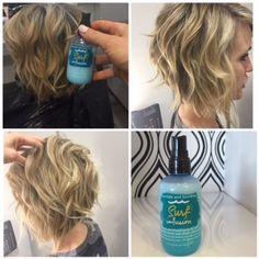 11 Best Beach Wave Short Hair Images Easy Hair Hair Ideas Hairdo