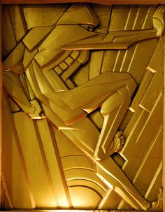 Art Deco detail, Chanin Building - New York, NY