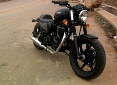 Royal Enfield Customs-Carbon-Modified .. isn't this beautiful
