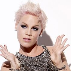 P!NK, the face of covergirl cosmetics :)