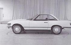 Mercedes-Benz 300SL - R107 prototype