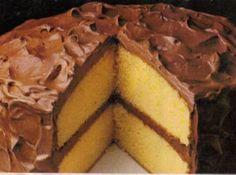 Yellow  Fluffy Layer Cake By Freda