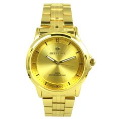 Pierre Jill Watch in Gold Dial Gold Stainless Steel Bracelet *** Want additional info? Click on the image.