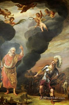 Ferdinand Bol, Canvas Art Prints, Fine Art Prints, Religious Paintings, Biblical Art, Canvas Paper, Old Master, Rembrandt, Artist Names
