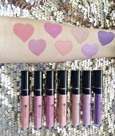 506d5696dfd BH Cosmetics Liquid Lipsticks (L-R): Tabitha, Samantha, Jeannie, Sorbet,