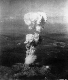 6 août  1945: bombardement atomique de Hiroshima.