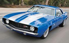1969 Camaro Z28. Classic American muscle.
