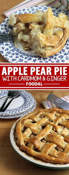 This Apple Pear Pie is a new, creative take on the American classic that's sure to please any crowd. It's the best way to use up a bounty of autumnal produce, but why limit yourself to tasty pie-making in the fall? Plus, you'll love the warm, spicy flavor of cardamom and ginger in place of the more traditional nutmeg and cinnamon. This truly is a year round treat. Read more on Foodal, and try this recipe today!