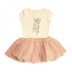 Billieblush Girls Ballerina Dress in Pink