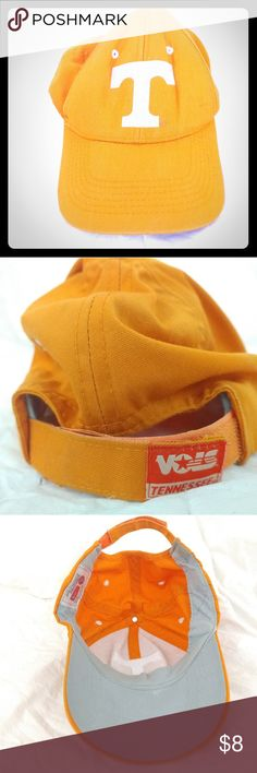 Tennessee Volunteers Captivating Headgear hat Tennessee Volunteers Captivating Headgear hat with velcro strap.. Some marks,  it's not perfect but it is still very nice and would be a great gift for any fan! Accessories Hats