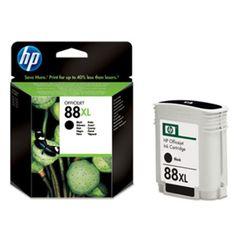 HP Ink Cartridge – Black; 88XL