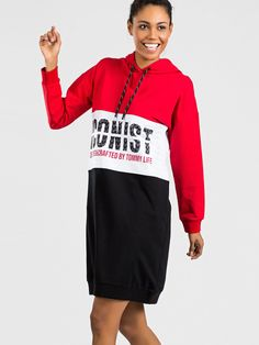 Červené športové šaty Sport, Deporte, Sports