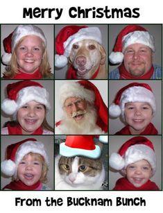 Brady Bunch Christmas Card Photo Ideas