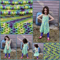 [Free Pattern] Fun Puff Stitch Halter Dress Any Little Girls Wants To Wear This Summer - http://www.dailycrochet.com/free-pattern-fun-puff-stitch-halter-dress-any-little-girls-wants-to-wear-this-summer/