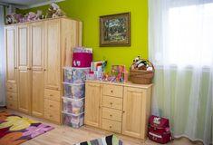 Gyerek játékok és ruhák tárolása Dresser, Entryway, Furniture, Home Decor, Entrance, Powder Room, Decoration Home, Room Decor, Stained Dresser