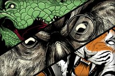 Seventh.Ink 2012 Animal Series by Seventhfury , via Behance