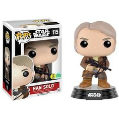 Funko Pop! Han Solo Star Wars SDCC 2016 Exclusive (SDCC Sticker)