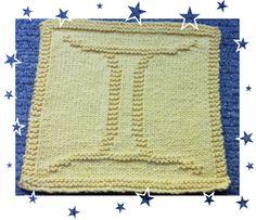 Gemini Zodiac Symbols, Gemini, Squares, Crochet Top, Knitting Patterns, How To Make, Women, Twins, Knit Patterns