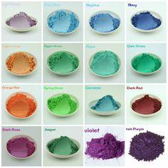 20g Healthy Natural Mineral Mica Powder Diy For Soap Dye Soap Colorant makeup eyeshadow Soap Powder Free Shipping   #StickersGalaxy