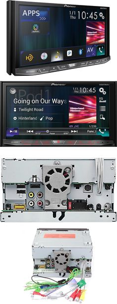 Video In-Dash Units w o GPS: Pioneer Avh-4200Nex 2 Din Dvd/Cd Player Bluetooth Hd Radio Android Auto Carplay BUY IT NOW ONLY: $469.0