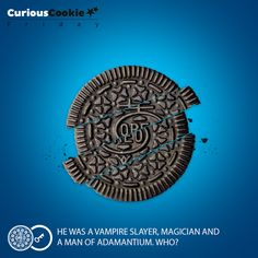Twist, lick, Dunk to one of the biggest action heroes in Hollywood #Oreo #CuriousCookie