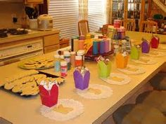 cookie decorating party set-up | Flickr - Photo Sharing!