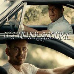 It's never goodbye