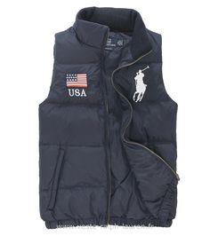 2124e39e77980b Polo officiel - Ralph Lauren veste sans hommesches hommes exquis italiens  promotions createurs bleu Doudoune Sans Manche Ralph Lauren Enfant