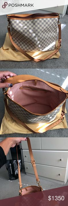 6c19714ba9f2a7 Louis Vuitton Delightful MM with adjustable strap Like brand new. No stains  or marks on