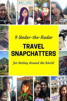 9 under-the-radar travel Snapchatters who are taking big adventures!