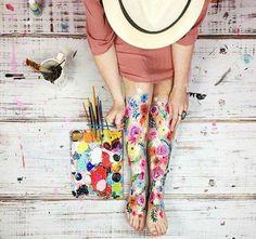 Leg painting