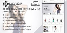 Luxury is a dominant #Odoo #eCommerce #Women #Fashion #Theme. It is responsive, customizable and design well to make your business top-notch.