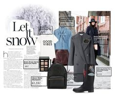 """let it snow"" by beste-unsoy on Polyvore featuring moda, Steffen Schraut, Michelle Mason, STELLA McCARTNEY, Tommy Hilfiger, RED Valentino, Chanel, Gucci ve Bobbi Brown Cosmetics"