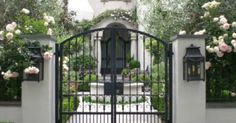 1000+ images about Home Courtyard on Pinterest | Gates, Entrance ...