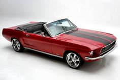 Ford Mustang GT convertible 1968.