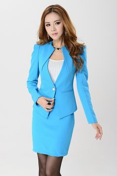 Cool Tahari By Arthur S Levine Women39s Cobalt Lasercut Collar Skirt Suit